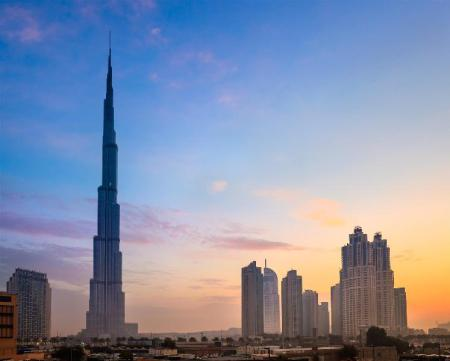 Burj Khalifa - 980 m from property Downtown Luxury Apartments