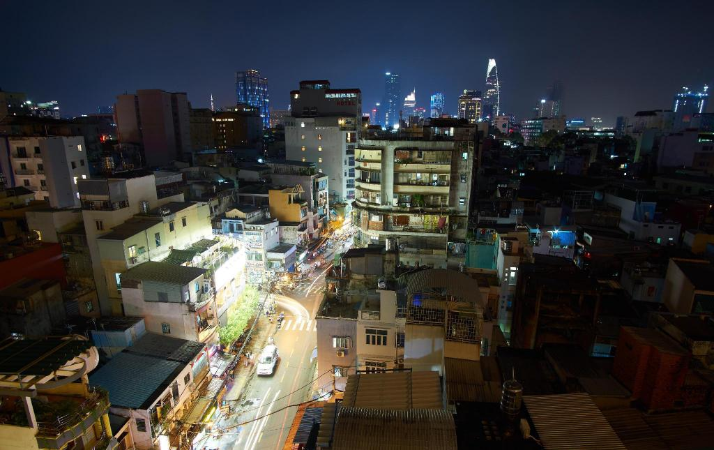 Pham Ngu Lao Street - 1.08 km van de accommodatie Saigon Apartment Rooftop Pool