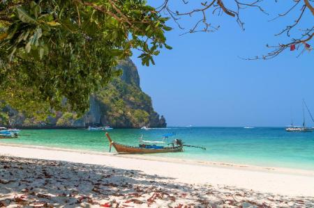 Monkey Beach - 4.96 km from property Maya Bay Sleepaboard Resort