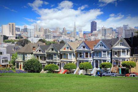 Alamo Square - 2.55 km from property Holiday Inn Express San Francisco-Union Square