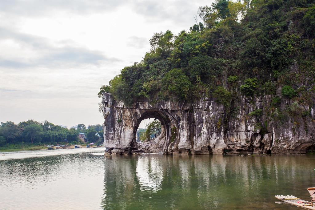 Elephant Trunk Hill - 1 km from property Guilin Haoyoulai Guesthouse