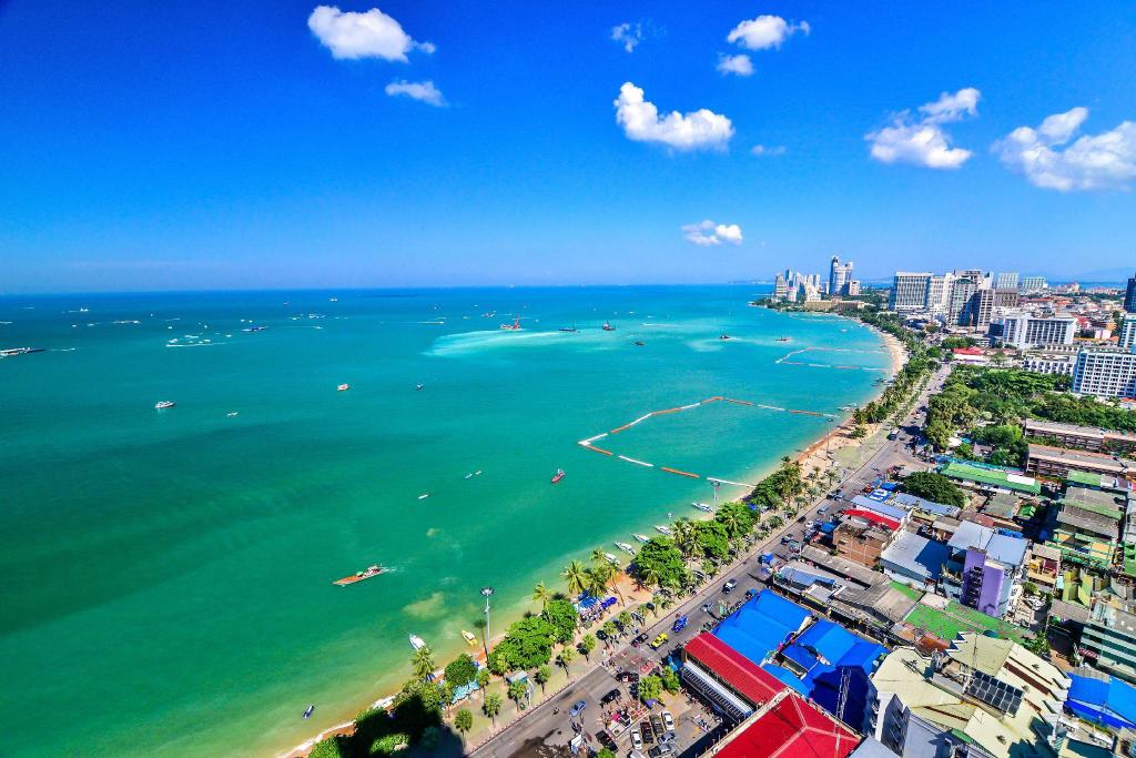 Pattaya Beach - 5.26 km. fra ejendommen Atlantis Condo Resort Pattaya EVT (Atlantis Condo Resort  Pattaya  EVT)