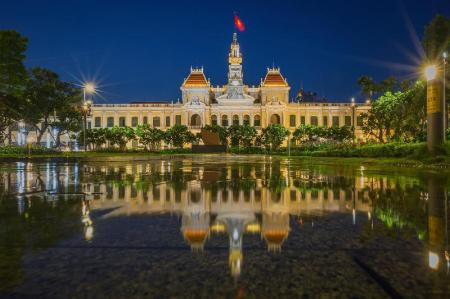 People's Committee Building - 390 m from property Tan Hoang Long Hotel