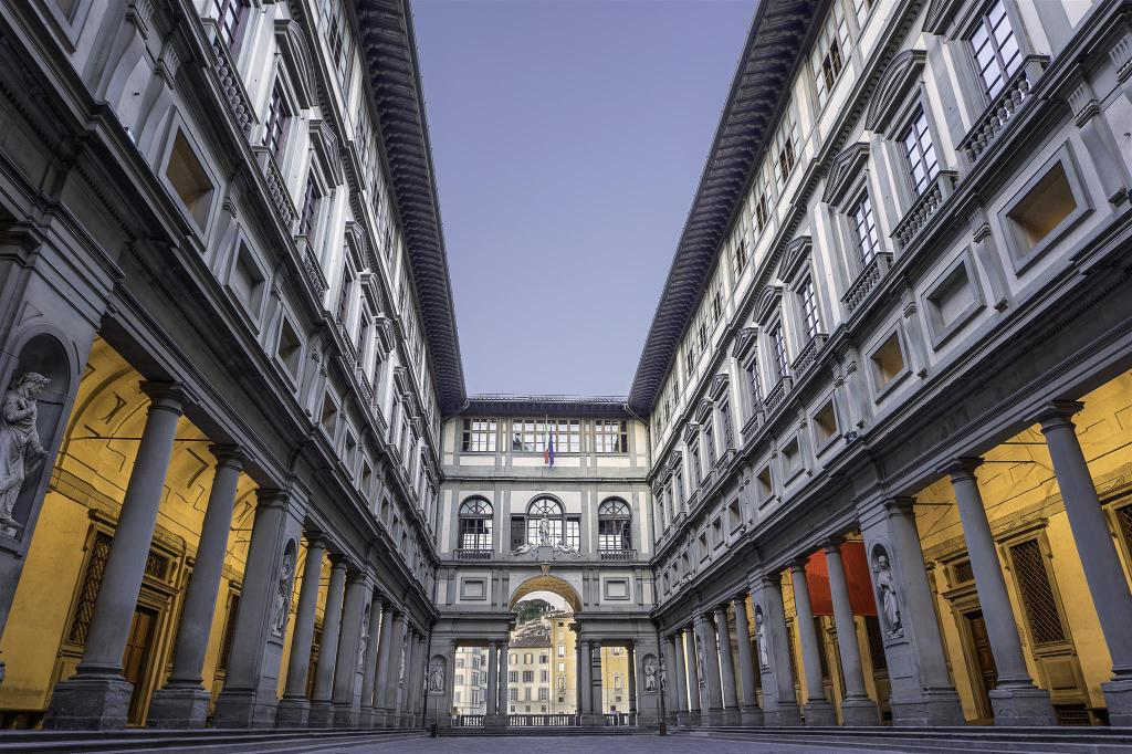 Uffizi Gallery - 660 m from property