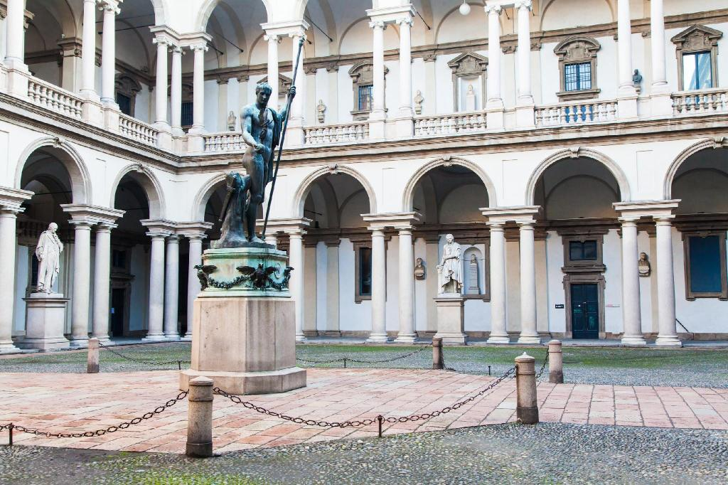 Galeria de artă Brera - 4.24 km from property Rent Milan - Temporary Apartments