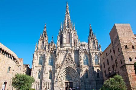 Catedral Barcelona - 1.7 km from property The After Hostel