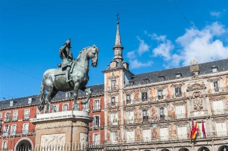 Plaza Mayor - A 350 m del alojamiento Hostal Art Madrid
