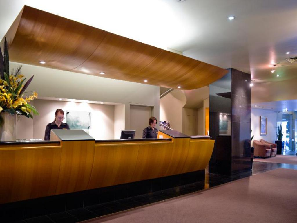 Lobby Hotel Grand Chancellor Melbourne