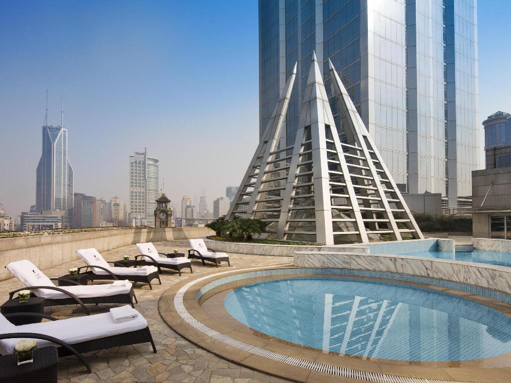 Swimming pool [outdoor] JW Marriott Hotel Shanghai at Tomorrow Square