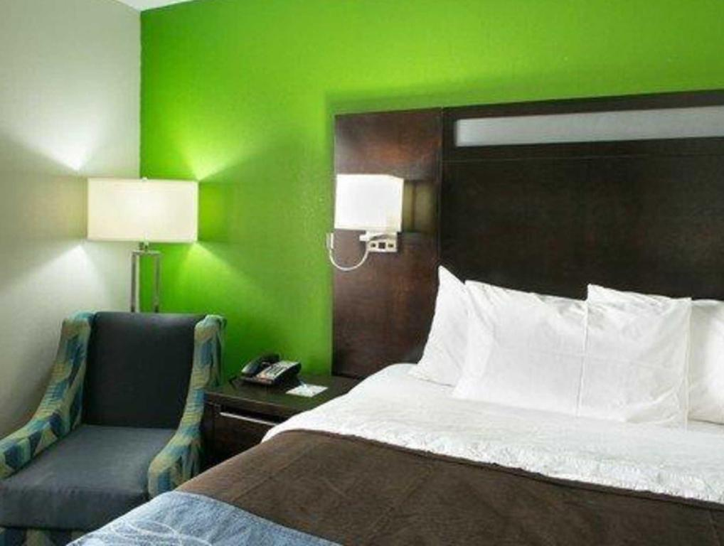 1 Kingsize Bett Nichtraucher - Gästezimmer Comfort Inn near Barclays Center - Crown Heights