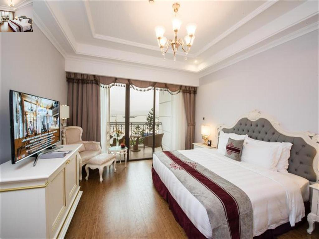 Deluxe Double with Sea View - Guestroom Vinpearl Resort & Spa Hạ Long