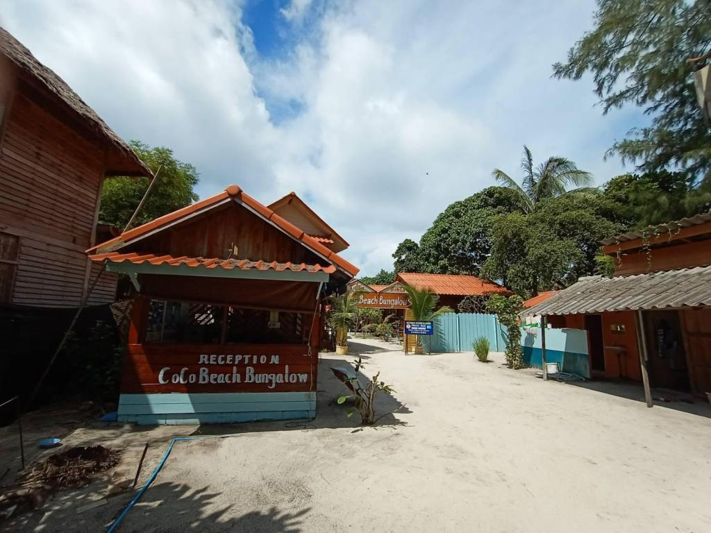 Empfangshalle Coco Beach Bungalows