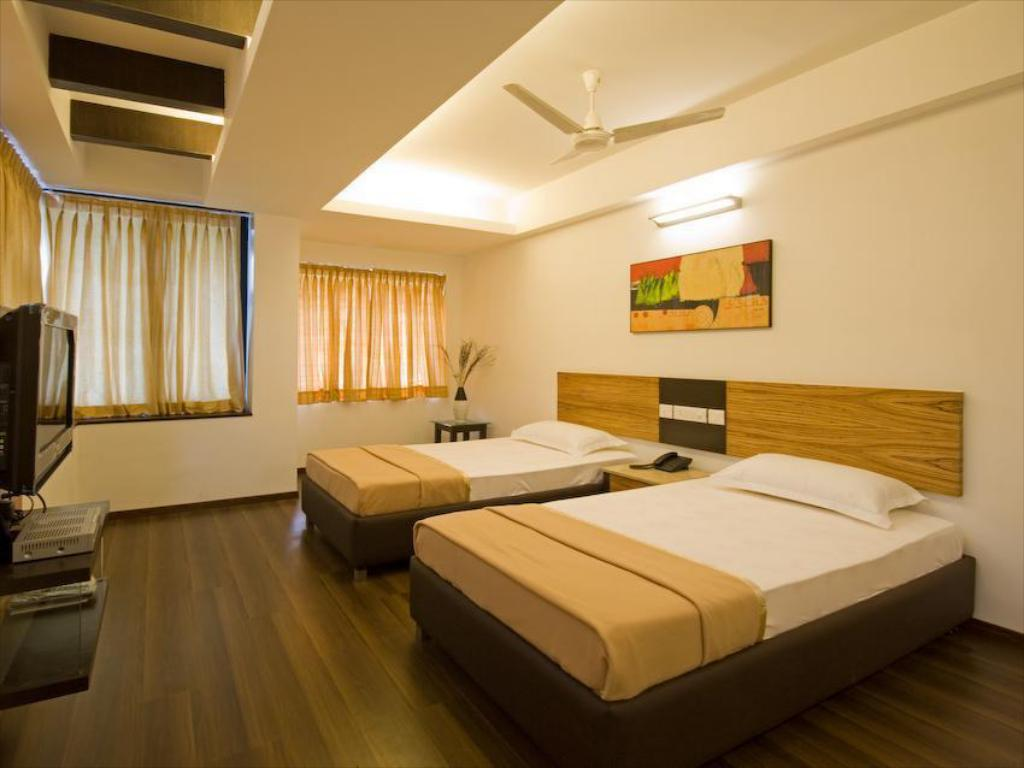 Super deluxe rom - Gjesterom D and A Corporate Residency Kannadasan Road - T Nagar