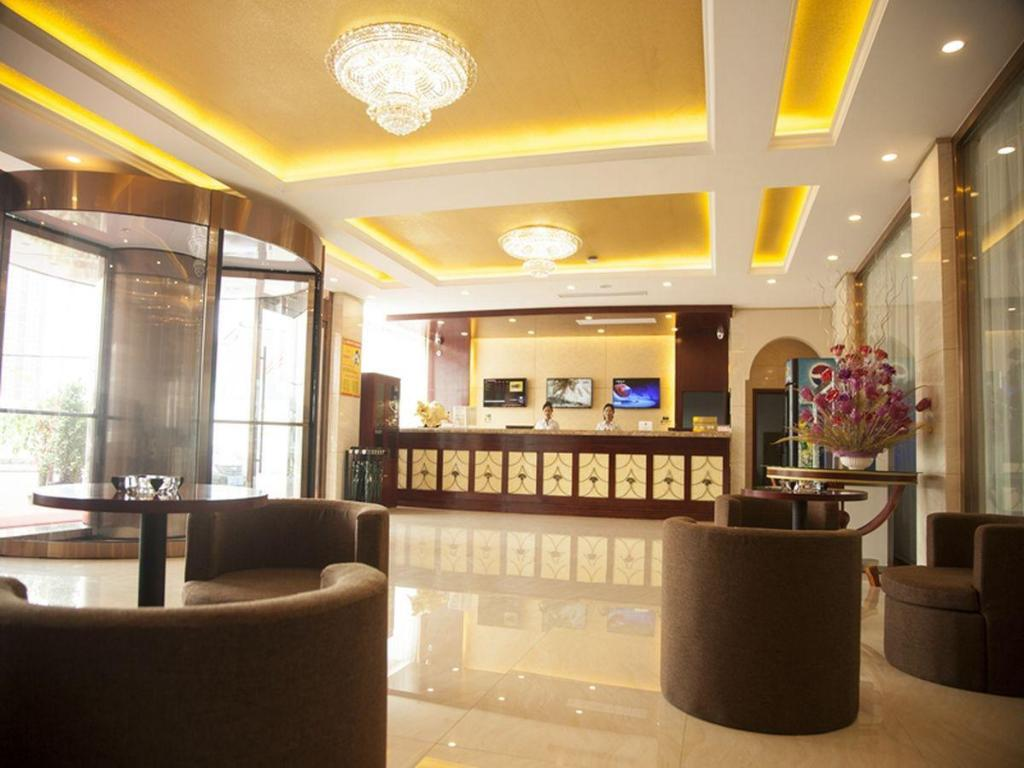 Lobby GreenTree Inn Shandong Zoucheng Railway Station Huochang Road Business Hotel
