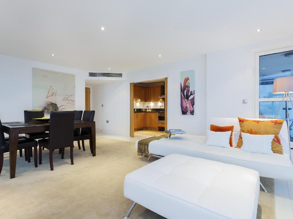 زوايا من الفندق Veeve  Sleek River View Apartment Aspect Court Chelsea Harbour Fulham