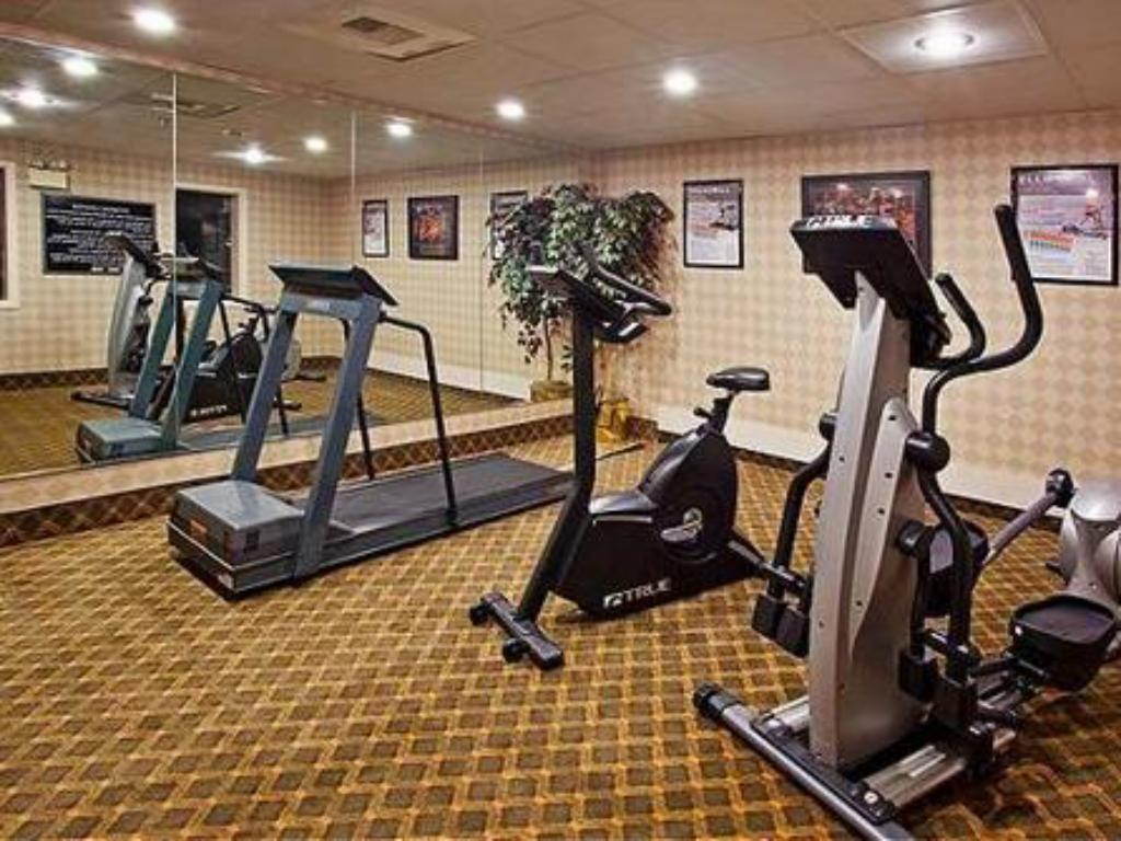 fitness centrum Holiday Inn Express Hotel & Suites Dayton-Huber Heights