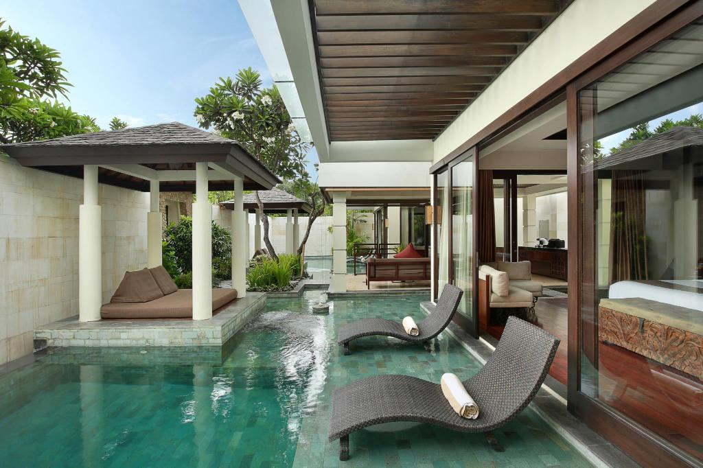 Two Bed Room Pool Villa - Room plan
