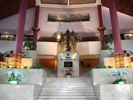 Interior view Inna Grand Bali Beach Hotel