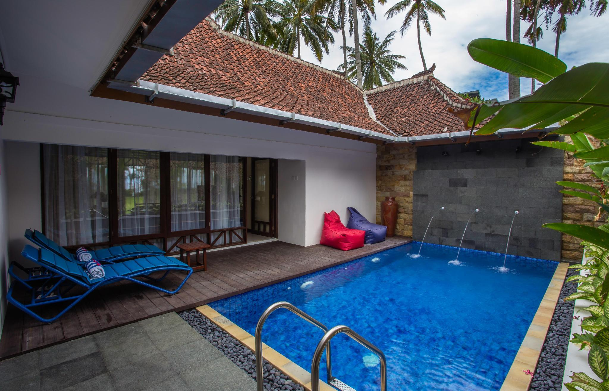 Two-Bedroom Pool Villa and Jetted Tub