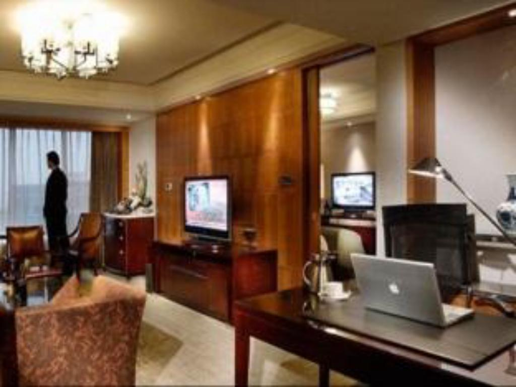 Executive Suite met Kingsize bed - Gastenkamer InterContinental Century City Chengdu