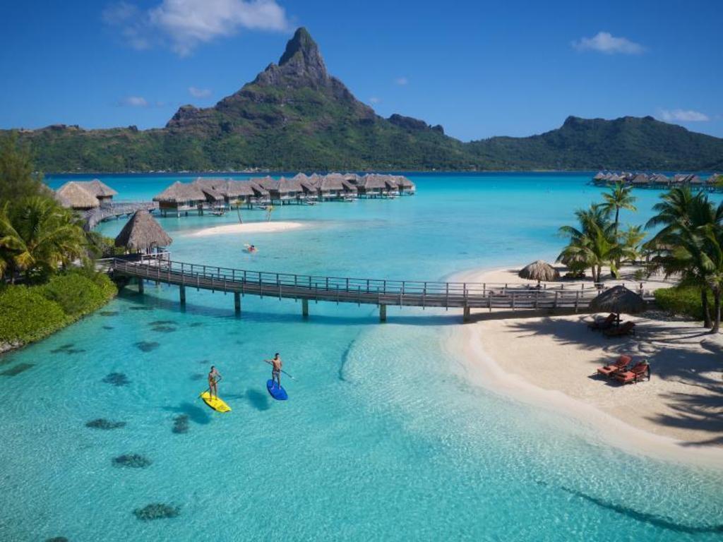 Intercontinental Bora Bora Thalasso Spa Resort Bora Bora Island