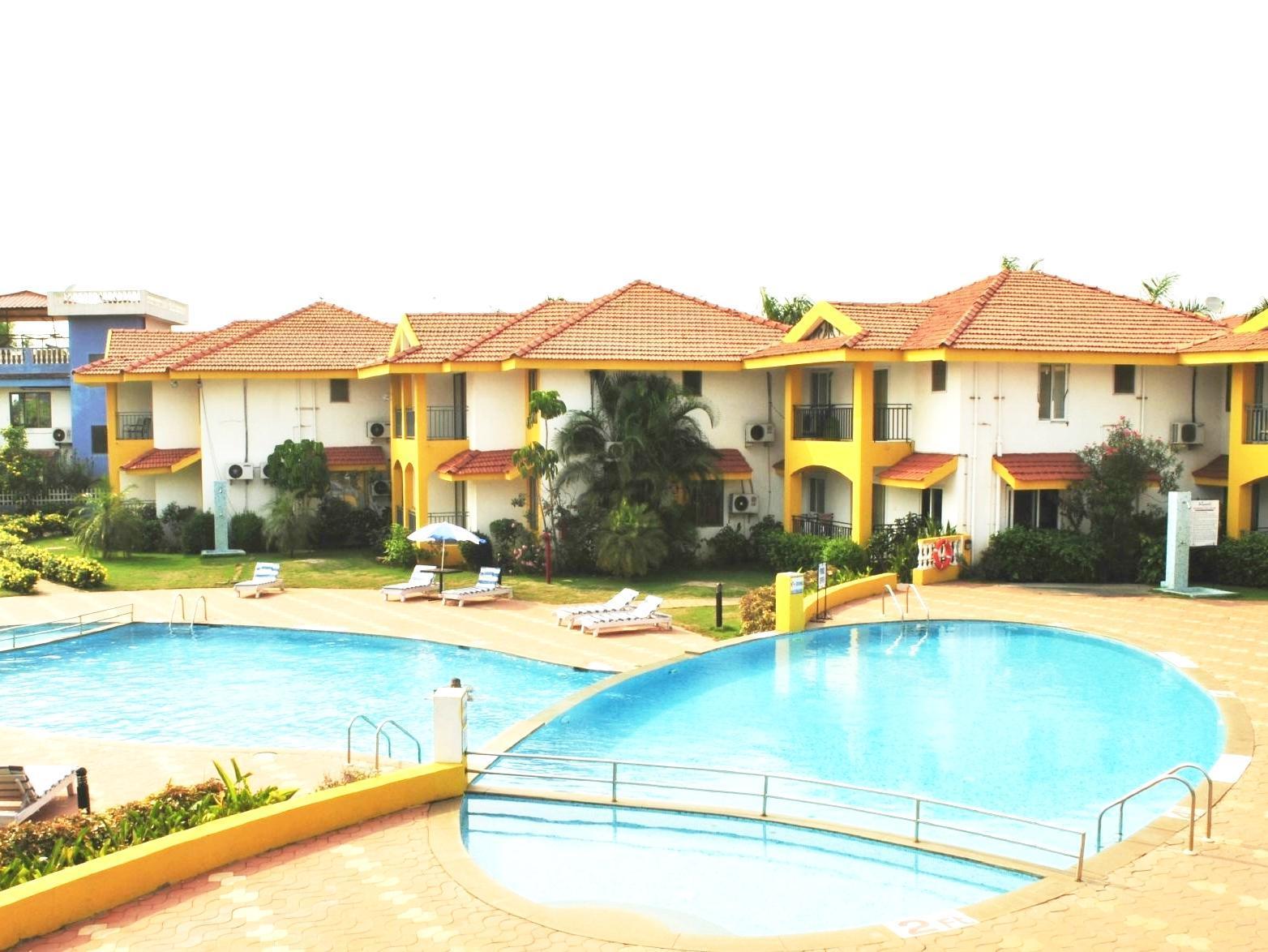 Hotel Sun Village 4 Goa: cheap and cheerful