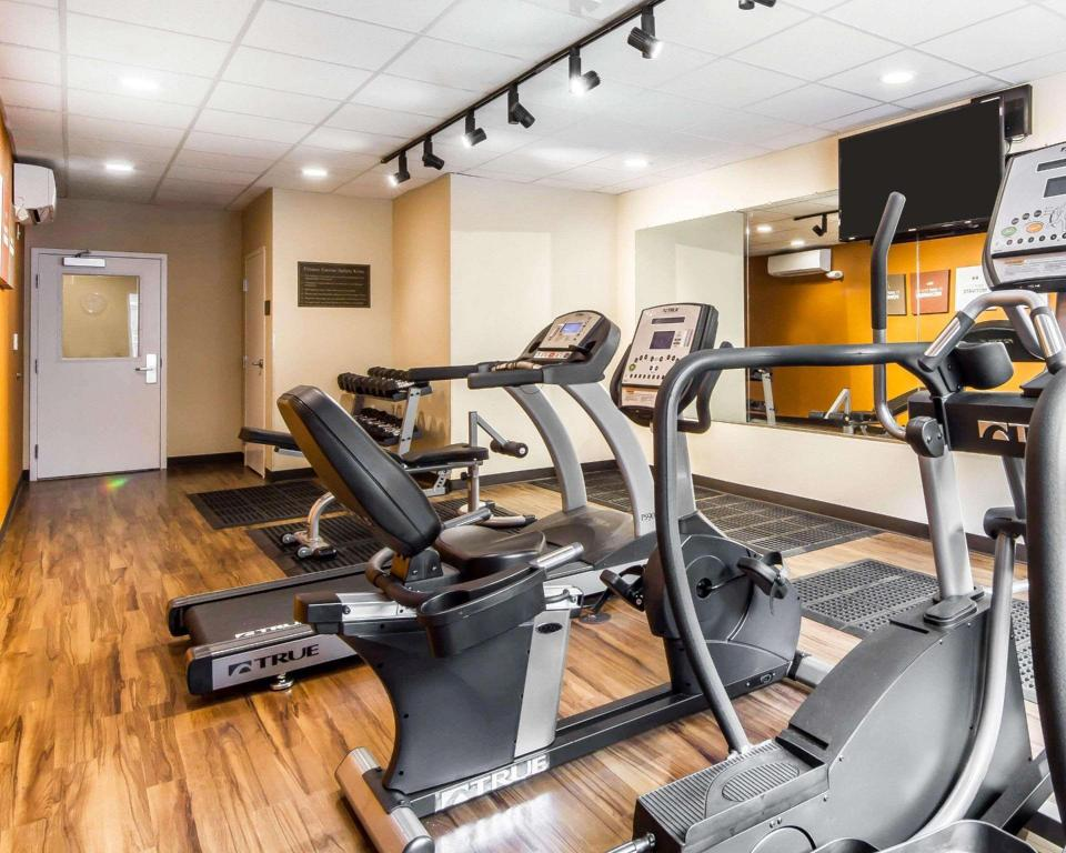 Fitnesa centrs Comfort Suites Woodland - Sacramento Airport