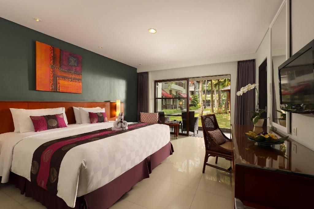 Deluxe Room - Room plan Bali Dynasty Resort