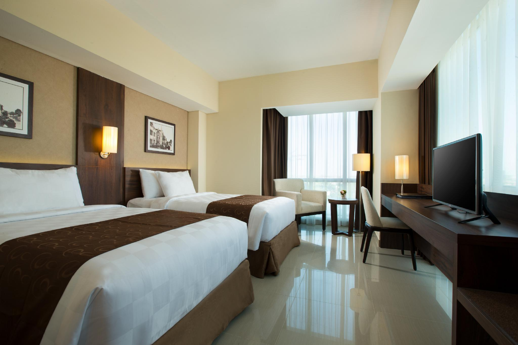 市景高級房(2張單人床) - 附歐式早餐/禁菸 (Superior Room with 2 Single Beds City View Non Smoking with Continental Breakfast)