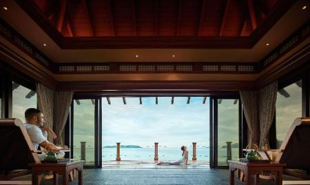 Интерьер Shangri-La's Tanjung Aru Resort & Spa