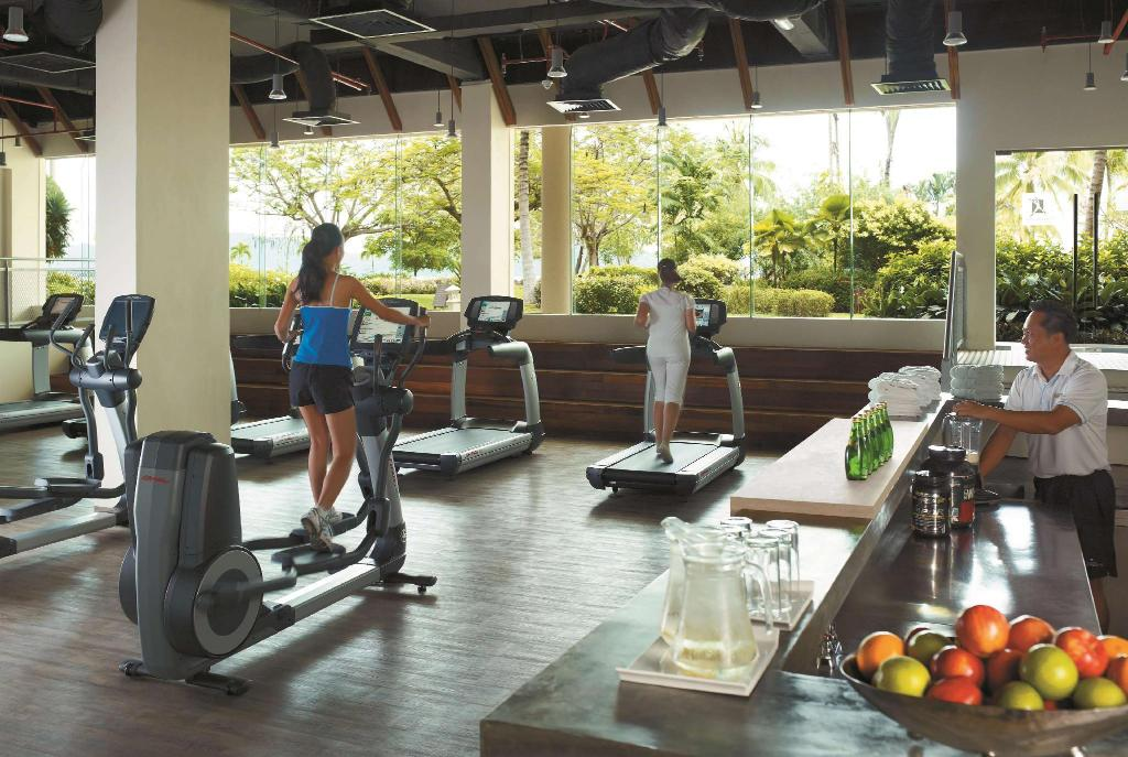 Fitness center Shangri-La's Tanjung Aru Resort & Spa