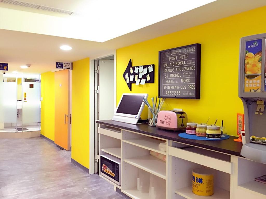 Lobby Sleep Taipei Hostel & Hotel