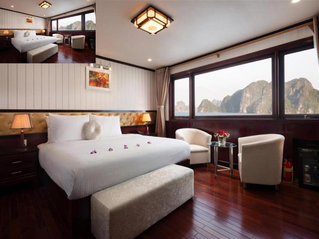 Deluxe Double or Twin Room - 2 Days 1 Night - Guestroom Halong Silversea Cruise