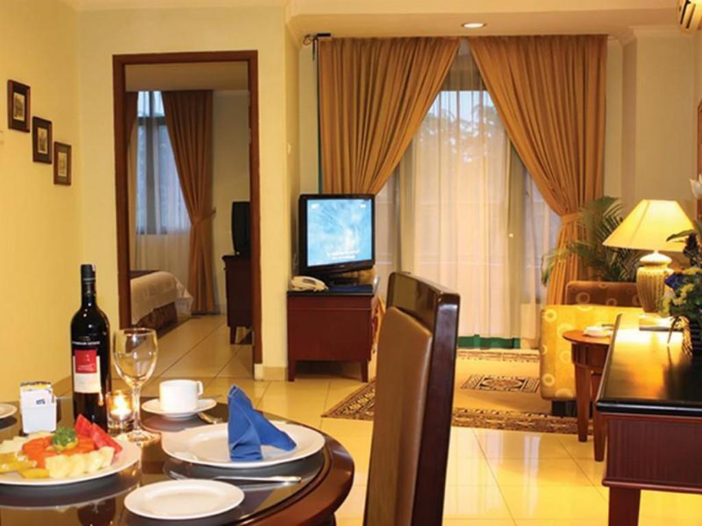 1 miegamojo apartamentai Travellers Suites Serviced Apartments