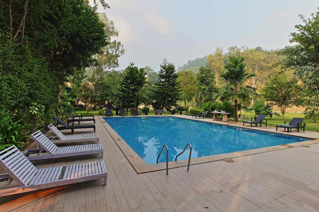 Swimming pool [outdoor] Corbett Riverside Resort
