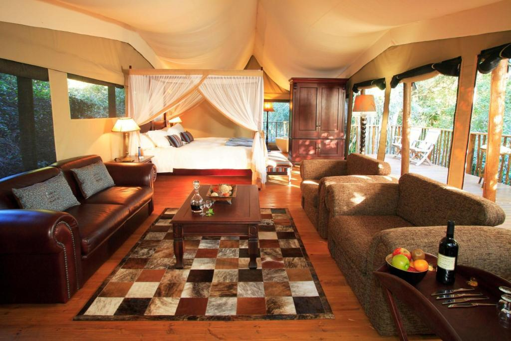 Family Tent  - Luxury Tented Camp Botlierskop Private Game Reserve