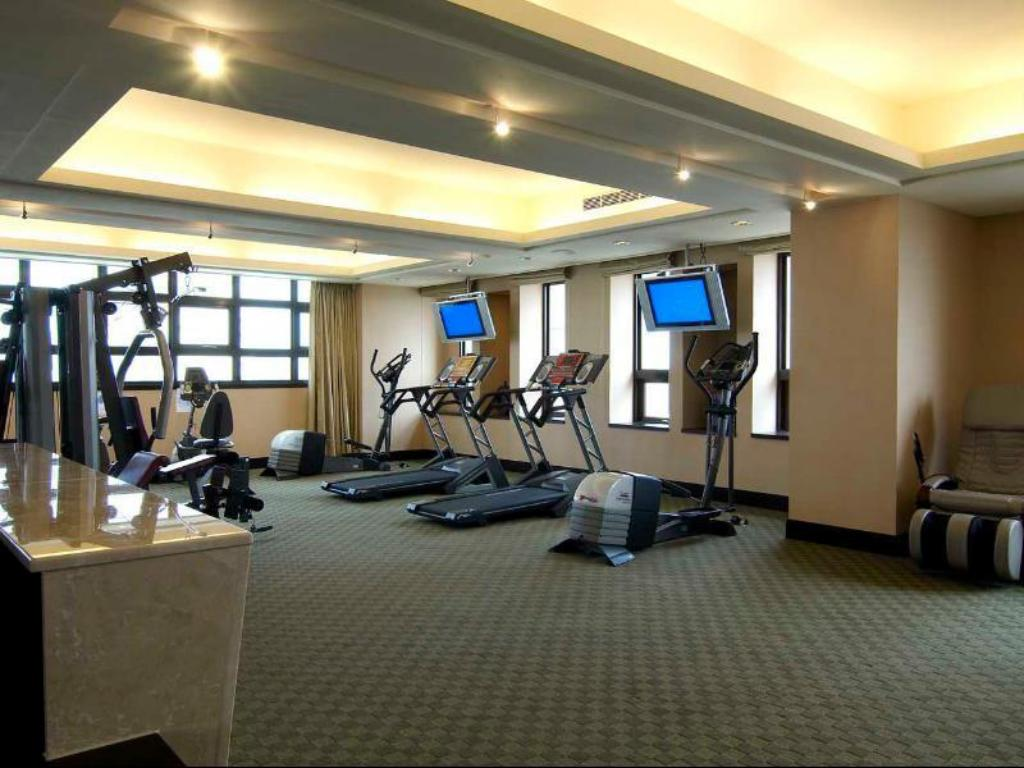 fitness centrum Justwin Grand Hotel