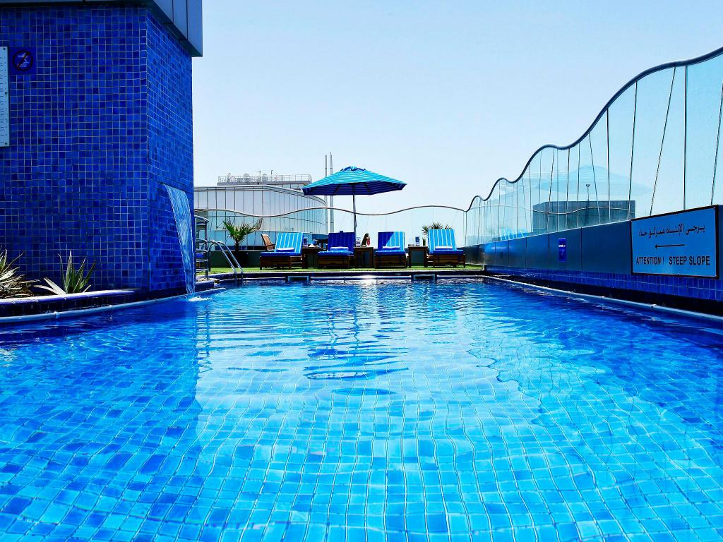 Swimming pool [outdoor] Samaya Hotel Deira