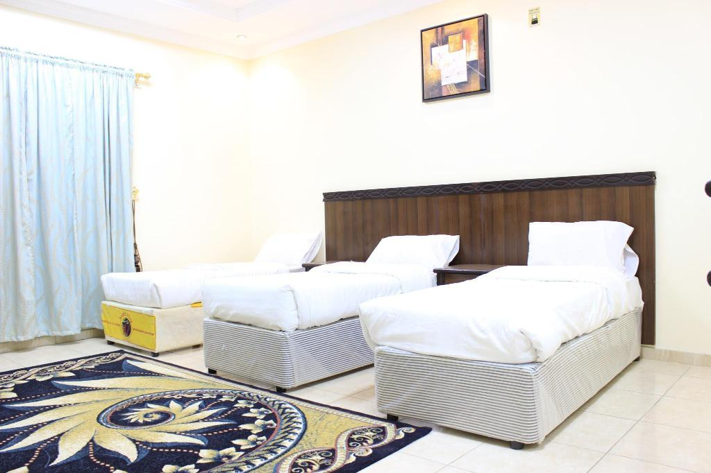 Twin Room - Guestroom Apartment Diyafat Al Haramain 4