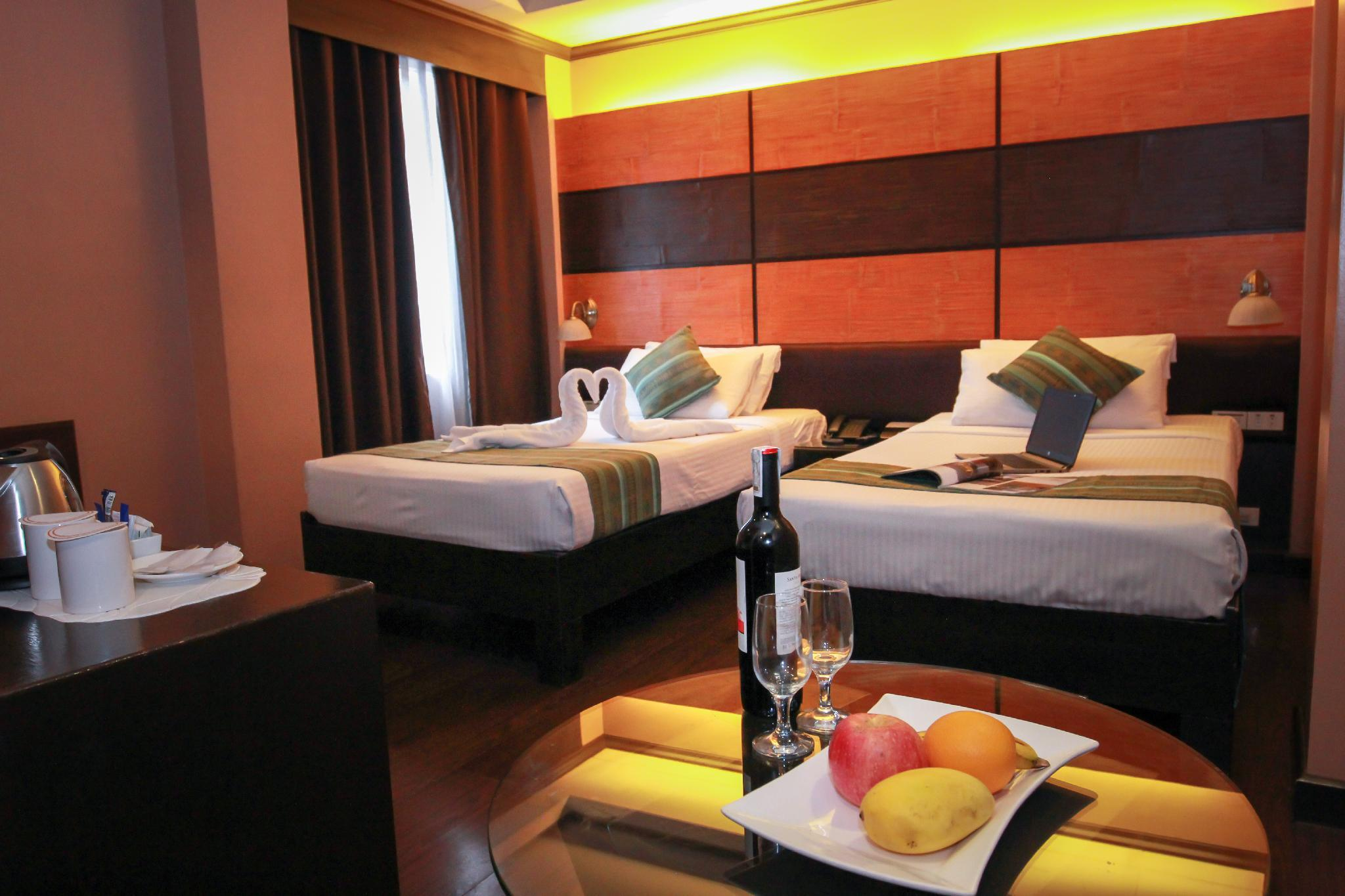 Kamar Superior dengan 2 Kasur Single – Bebas Asap Rokok (2 Single Beds Superior Room, No Smoking)