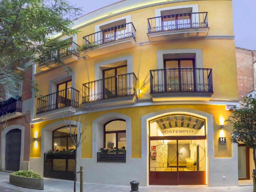 ホテル ホステンプロ サグラダ ファミリア Boutique Hostemplo