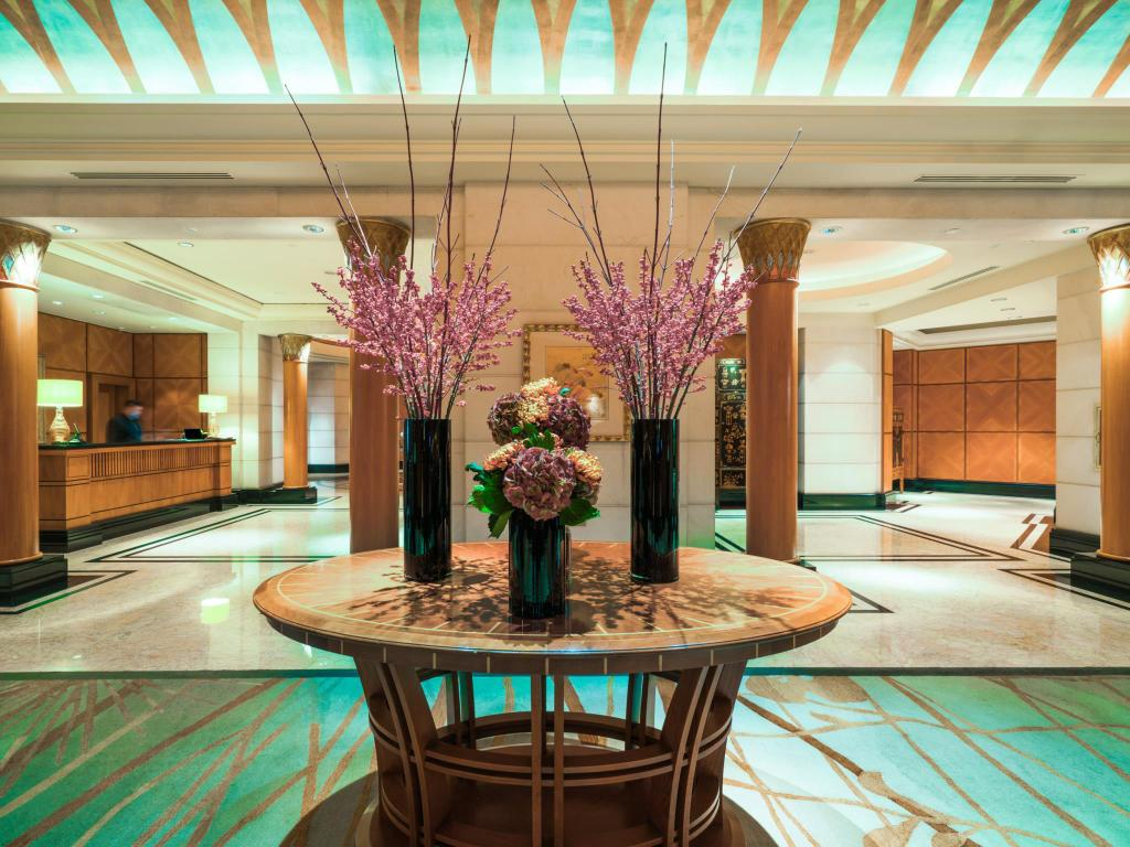 Lobby Four Seasons Hotel Singapore