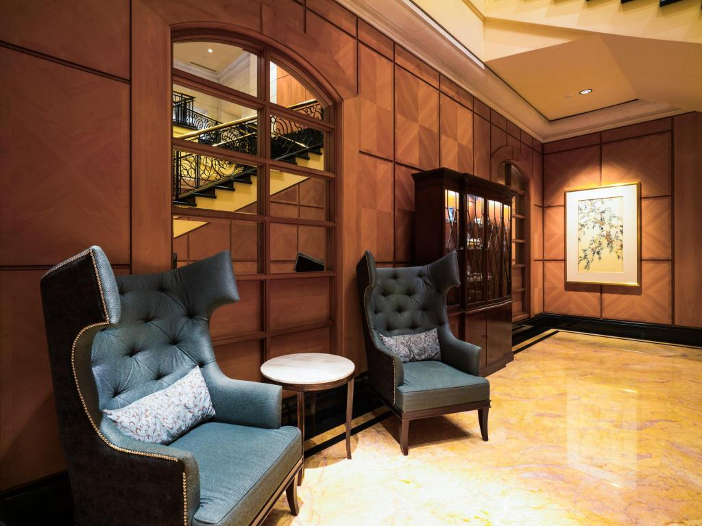Interno Four Seasons Hotel Singapore