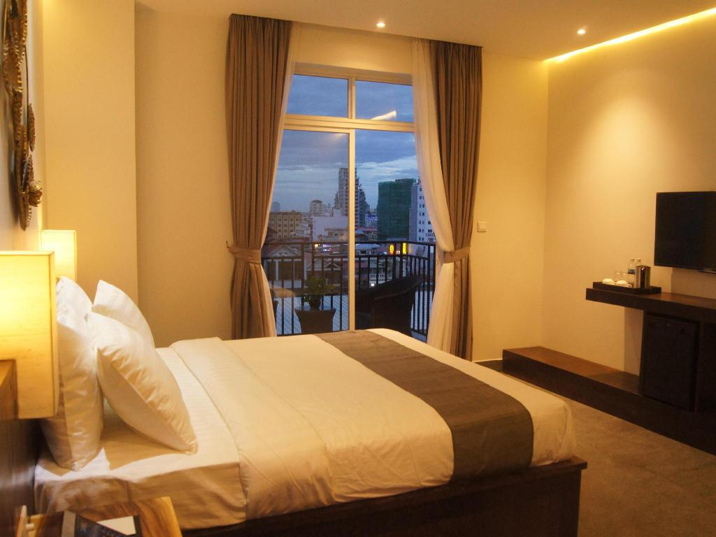 Superior Double with Balcony - Bed Balconitel Boutique Hotel
