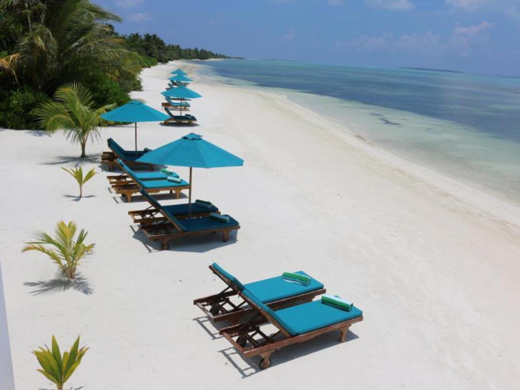 παραλία Canareef Resort Maldives