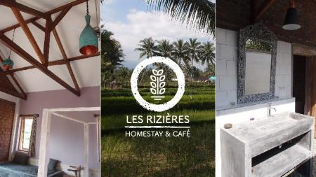 Superior Room for 4 People with Open-Air Bath - View Les Rizieres Lombok