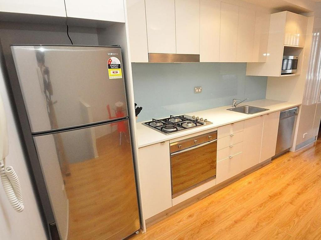kitchen Ultimo Furnished Apartments 817 Harris Street