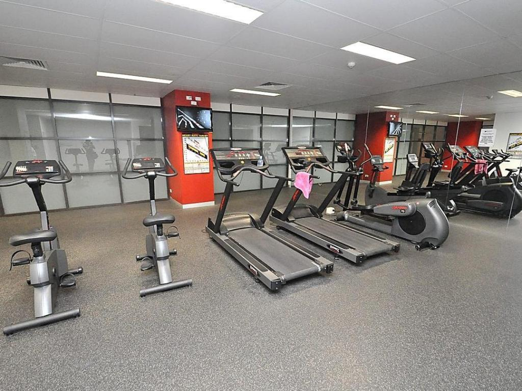 Fitness center Ultimo Furnished Apartments 817 Harris Street