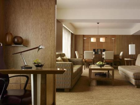Interior view Grand Hyatt Singapore