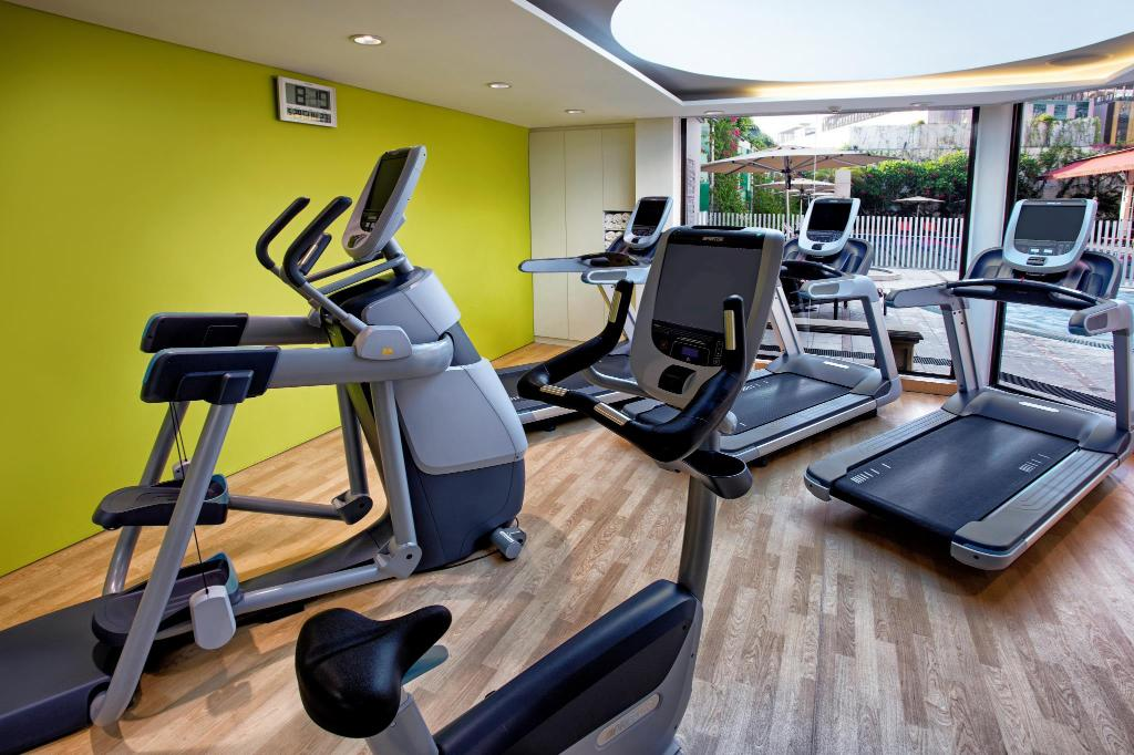 centru de fitness Holiday Inn Singapore Orchard City Centre